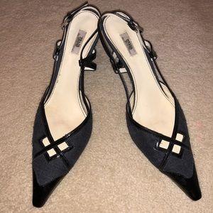 Prada Pointed Toes Kitten Heels